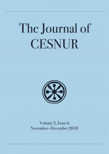 the journal of cesnur cover year 2 issue 6