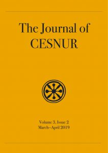 The Journal of CESNUR Volume 3, Issue 2 cover