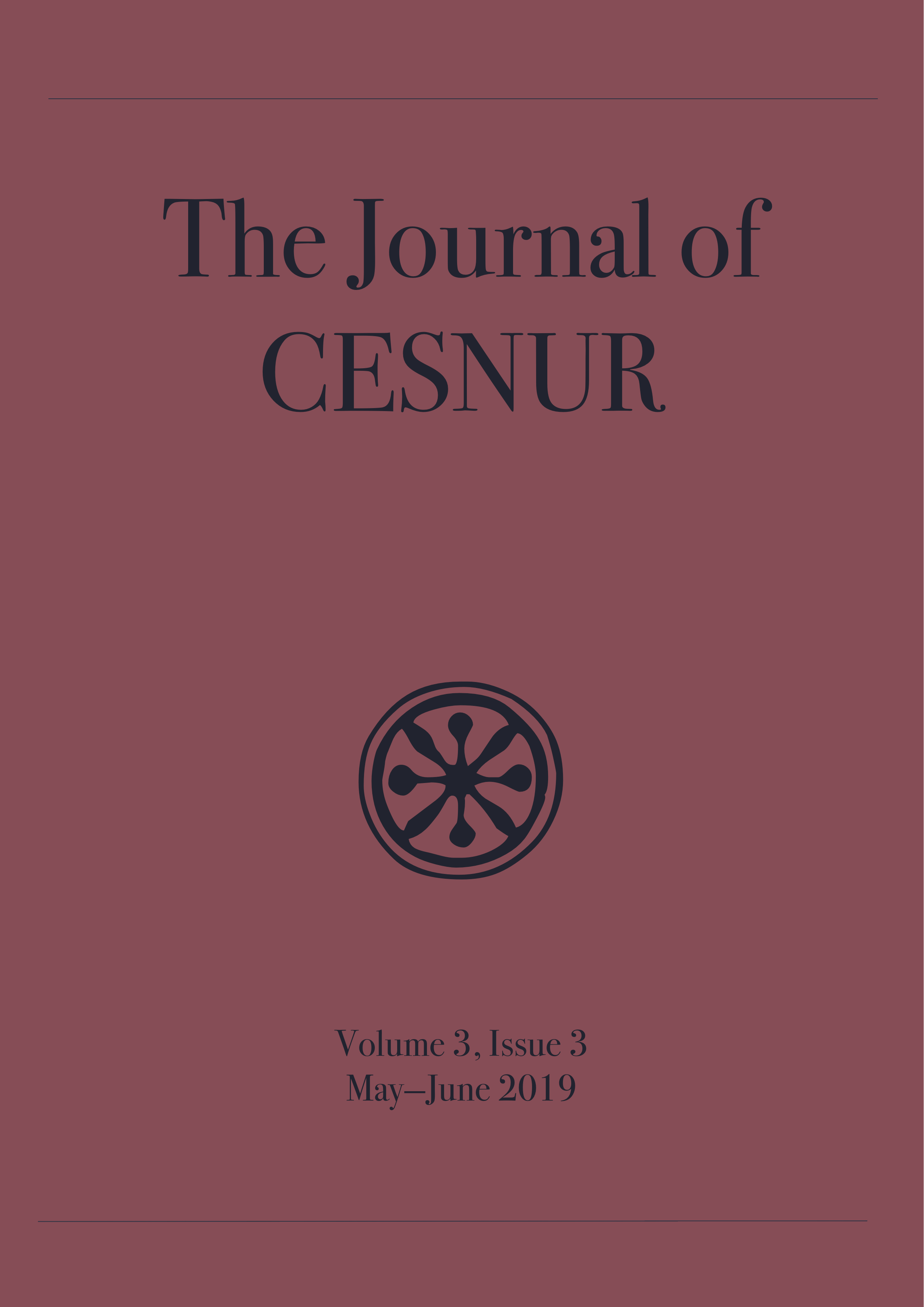 The Journal of Cesnur Volume 3 Issue 3 cover