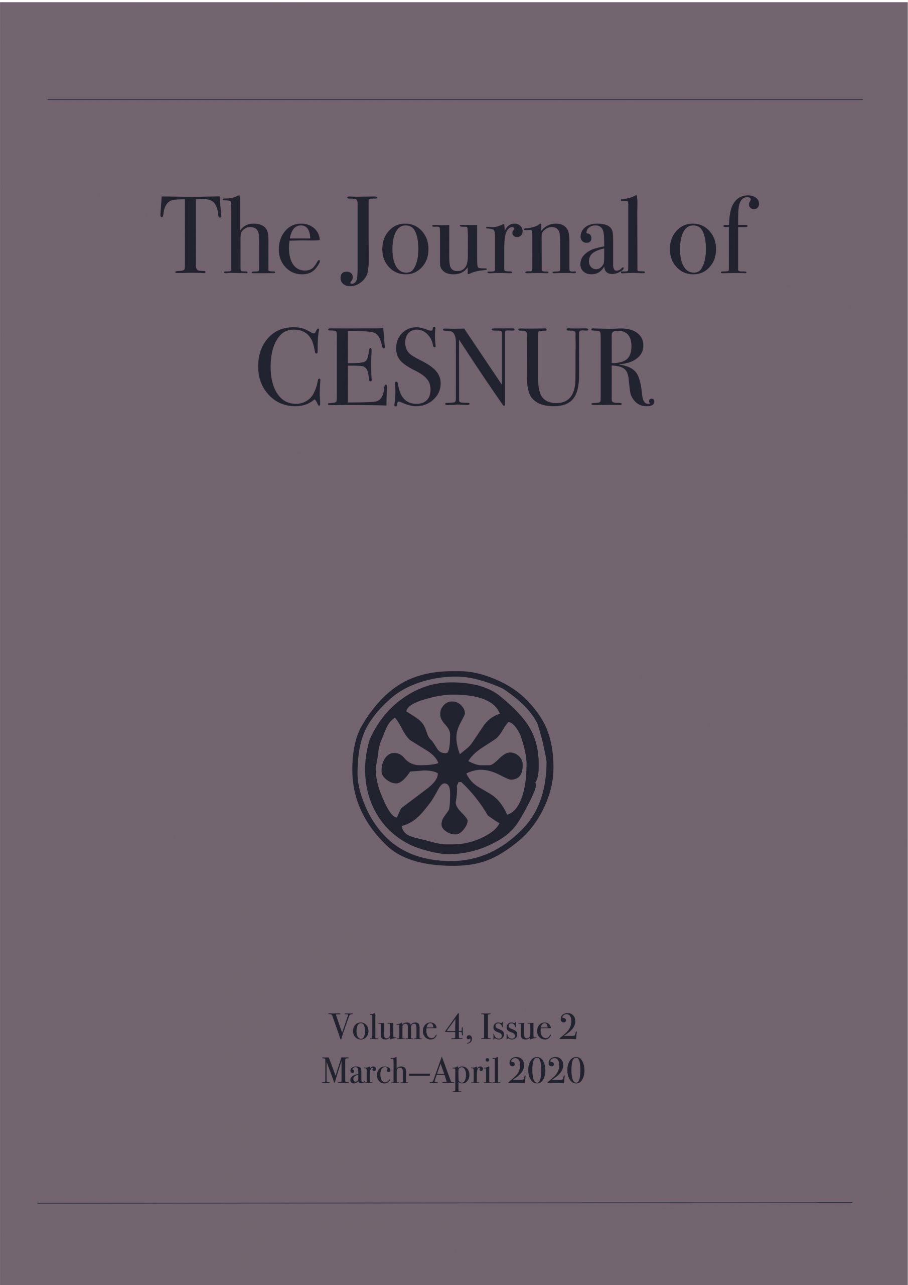The journal of Cesnur Volume 4, Issue 2_cover