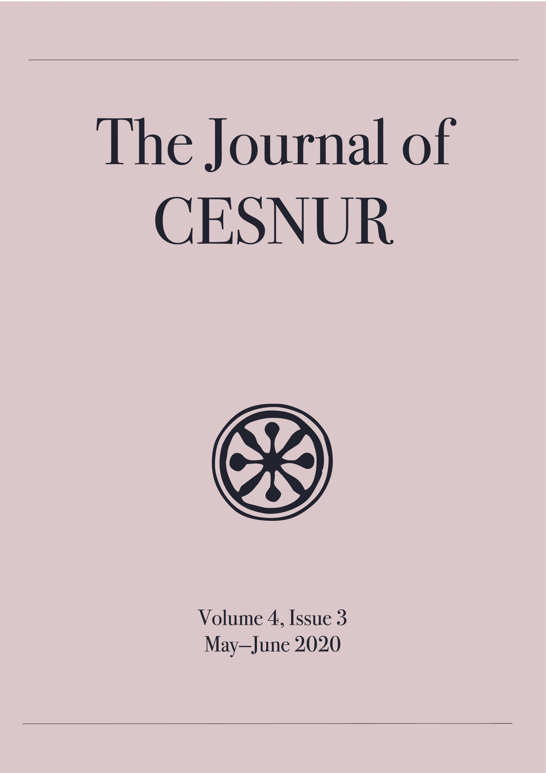 The journal of Cesnur Volume 4, Issue 3_cover